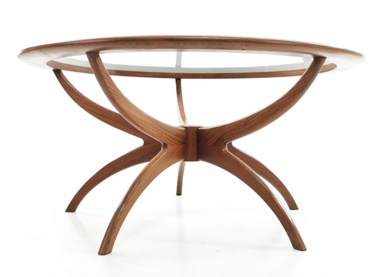Midcentury Teak G Plan Astro Spider Coffee Table In Good Condition For Sale In STOKE ON TRENT, GB