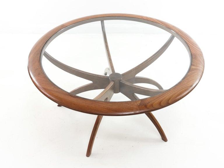 20th Century Midcentury Teak G Plan Astro Spider Coffee Table For Sale