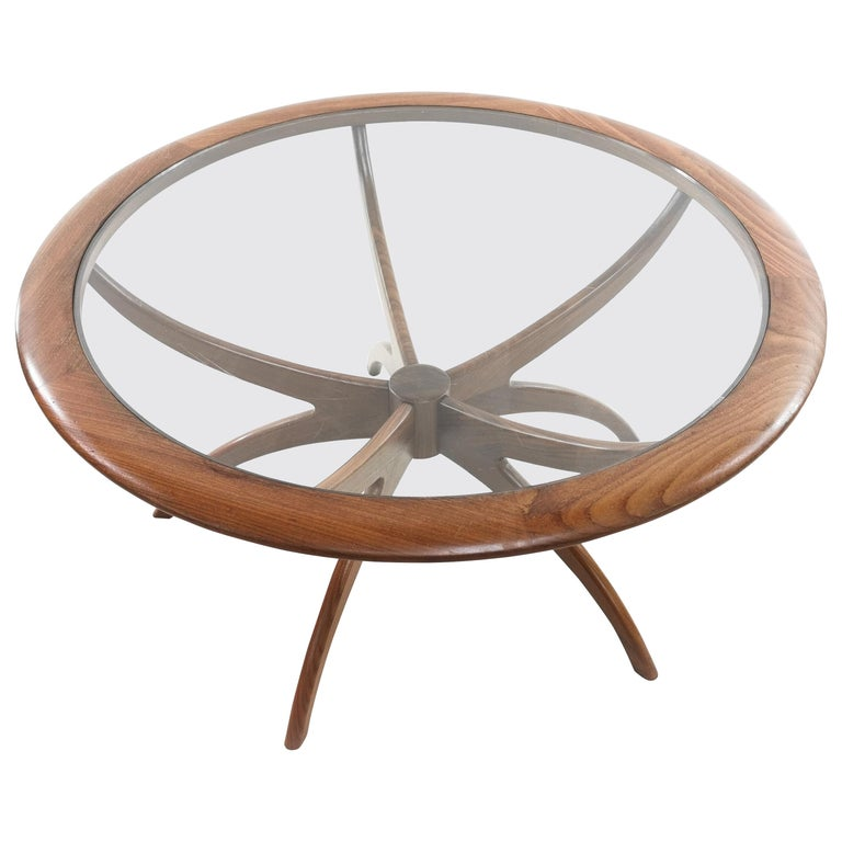 Midcentury Teak G Plan Astro Spider Coffee Table For Sale