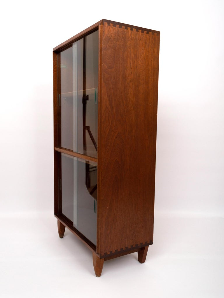 Mid-Century Modern Midcentury Teak Glazed Cabinet by Robert Heritage, England, circa 1960 For Sale