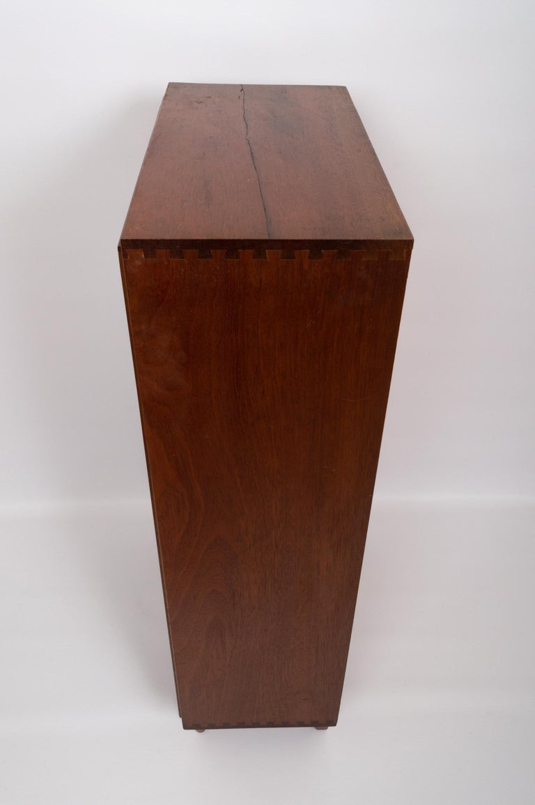Midcentury Teak Glazed Cabinet by Robert Heritage, England, circa 1960 In Good Condition For Sale In London, GB