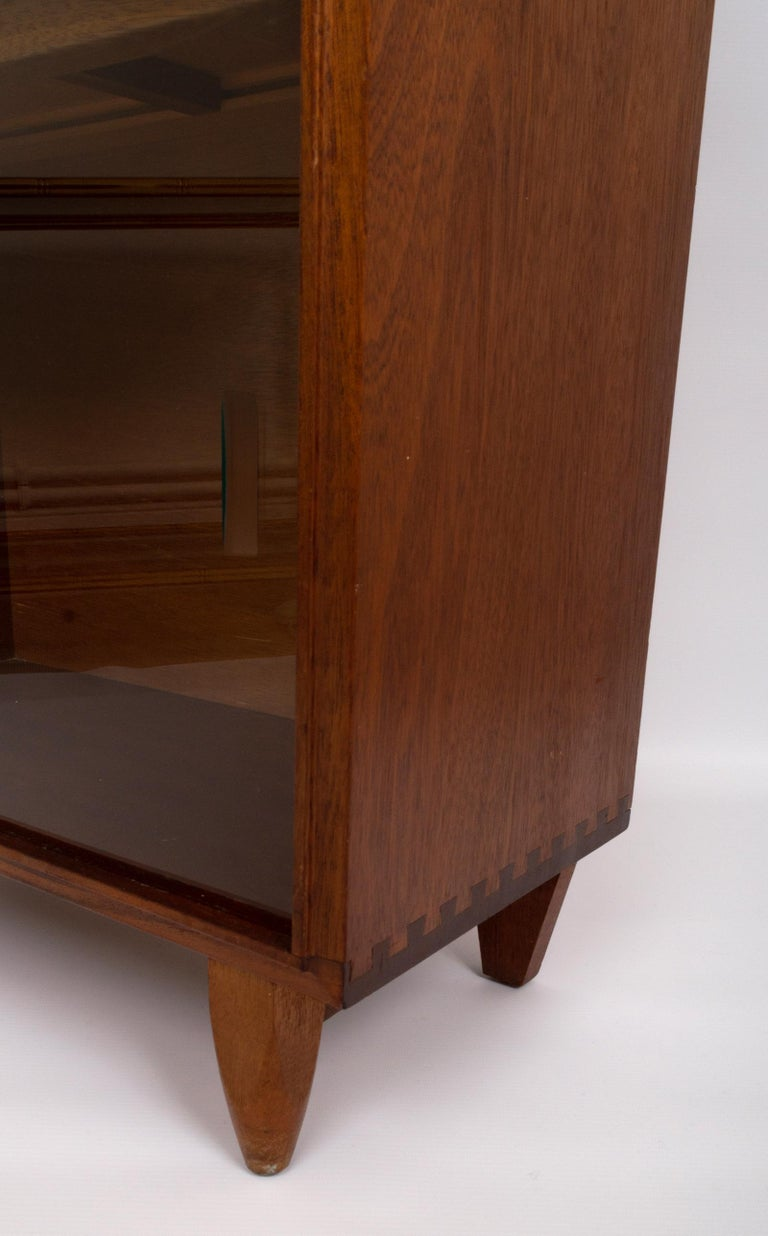 Mid-20th Century Midcentury Teak Glazed Cabinet by Robert Heritage, England, circa 1960 For Sale