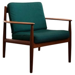 Mid Century Teak Lounge Chair by Grete Jalk for France and Son
