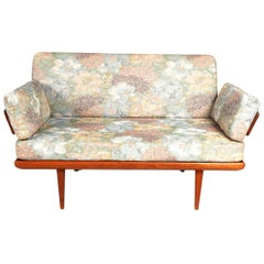 Mid Century Teak Loveseat by Hvidt & Mølgaard for France & Son, Denmark