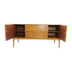 Midcentury Teak & Oak Vintage Sideboard