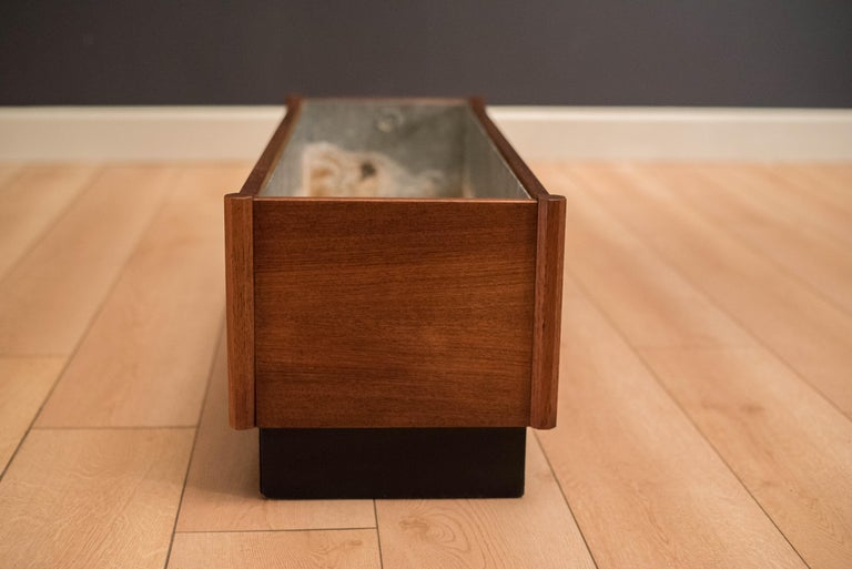 Mid-20th Century Mid Century Teak Planter Box For Sale