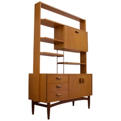 Midcentury Teak Room Divider or Shelving Unit by G Plan