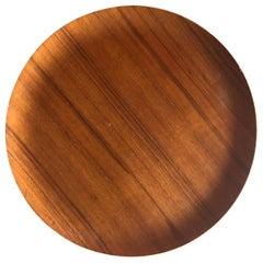 Midcentury Teak Serving Tray or Platter