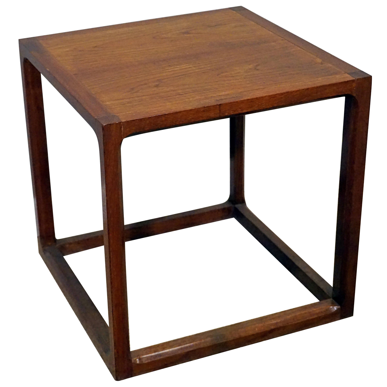Midcentury Teak Side Table