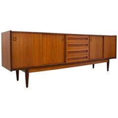 Midcentury Teak Sideboard by Jensen & Molholm, 1960s