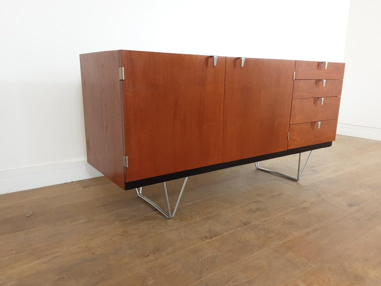 Mid-Century Modern Midcentury Teak Sideboard Designed by John and Sylvia Reid for Stag Furniture For Sale