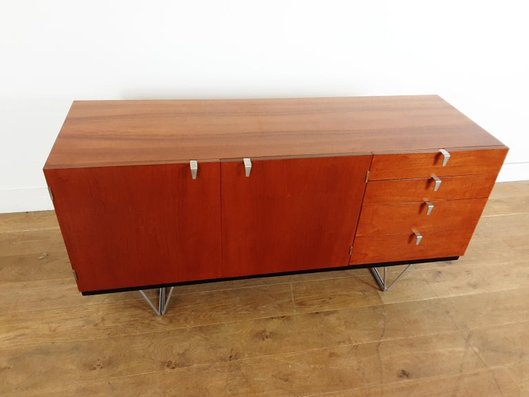 British Midcentury Teak Sideboard Designed by John and Sylvia Reid for Stag Furniture For Sale