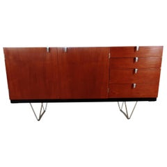 Midcentury Teak Sideboard Designed by John and Sylvia Reid for Stag Furniture