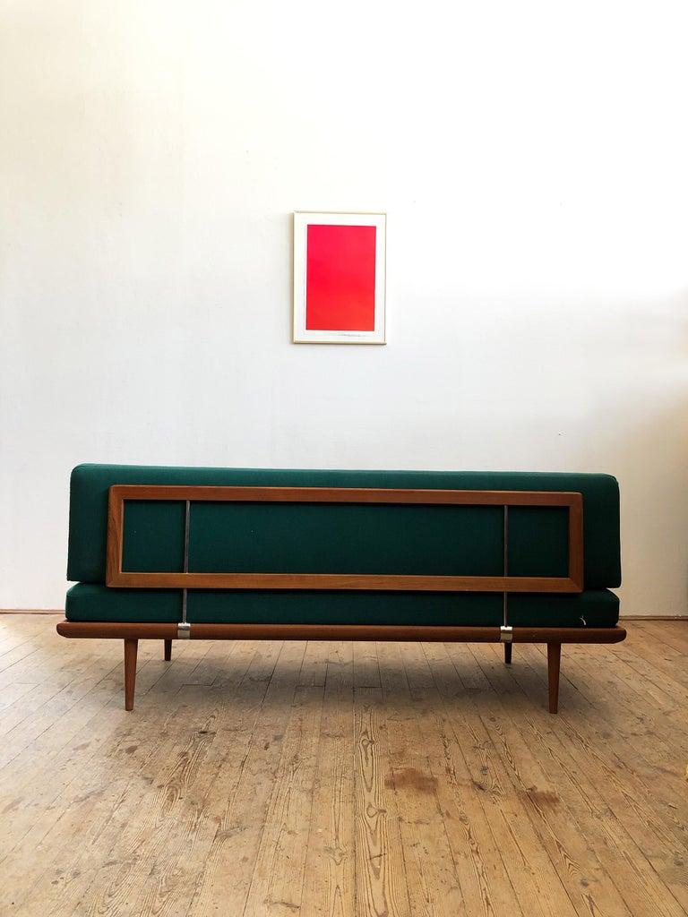 Oiled Midcentury Teak Sofa by Peter Hvidt & Orla Mølgaard Nielsen for France & Son For Sale