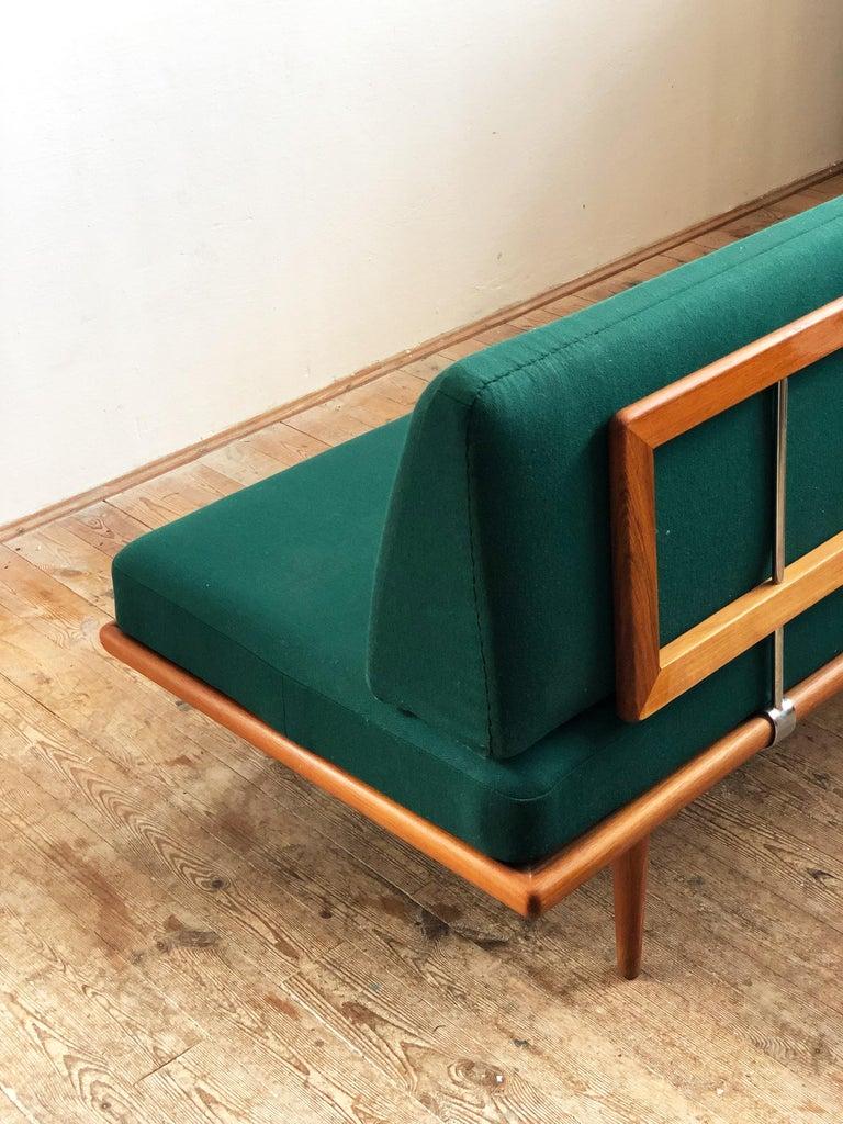 Midcentury Teak Sofa by Peter Hvidt & Orla Mølgaard Nielsen for France & Son In Good Condition For Sale In Munich, Bavaria