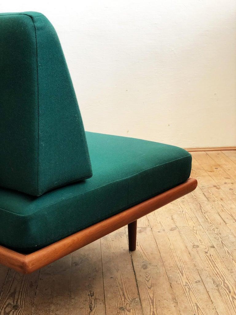 Midcentury Teak Sofa by Peter Hvidt & Orla Mølgaard Nielsen for France & Son For Sale 1