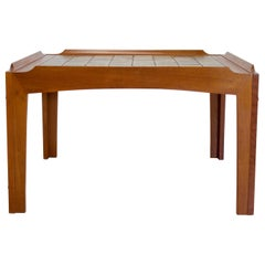 Midcentury Teak Tiled Danish Coffee Table from Trioh