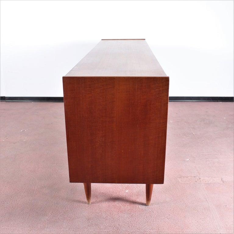 Midcentury Teak Vintage Sideboard Danish Design, 1960s For Sale 6
