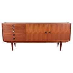 Midcentury Teak Vintage Sideboard Danish Design, 1960s