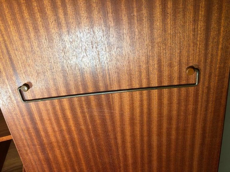 Midcentury Teak Wardrobe Armoire by G Plan, Fresco Range In Good Condition For Sale In Norcross, GA