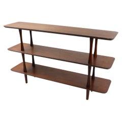 Mid Century Three-Tier Shelf After McCobb