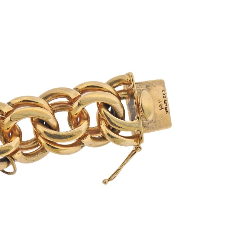 Midcentury Tiffany & Co. Charm Bracelet In Excellent Condition For Sale In New York, NY