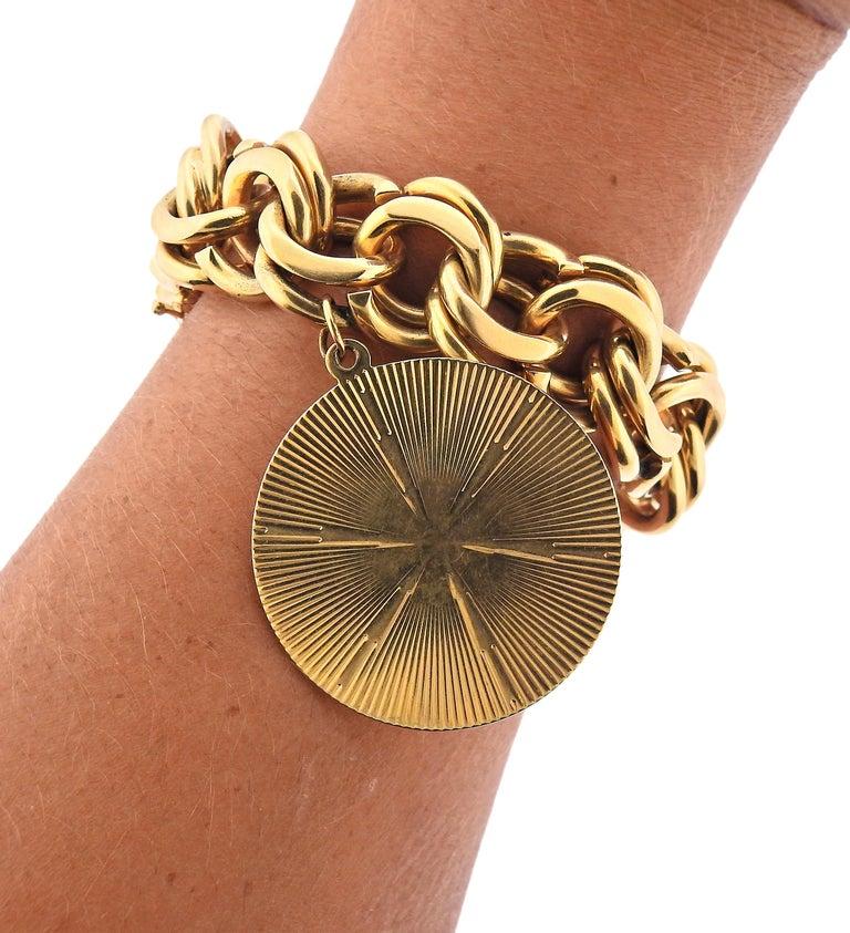Midcentury Tiffany & Co. Charm Bracelet For Sale 1