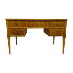 Midcentury Tiger Wood Desk