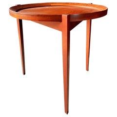 Midcentury Tray Table Teak, Denmark, 1960