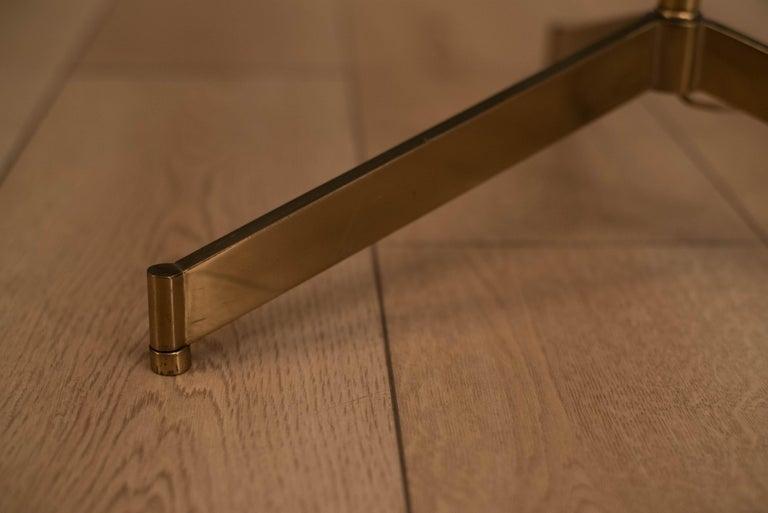 Mid Century Tripod Brass Floor Lamp 8
