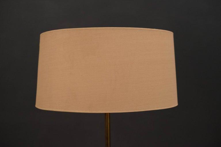 Mid Century Tripod Brass Floor Lamp 1
