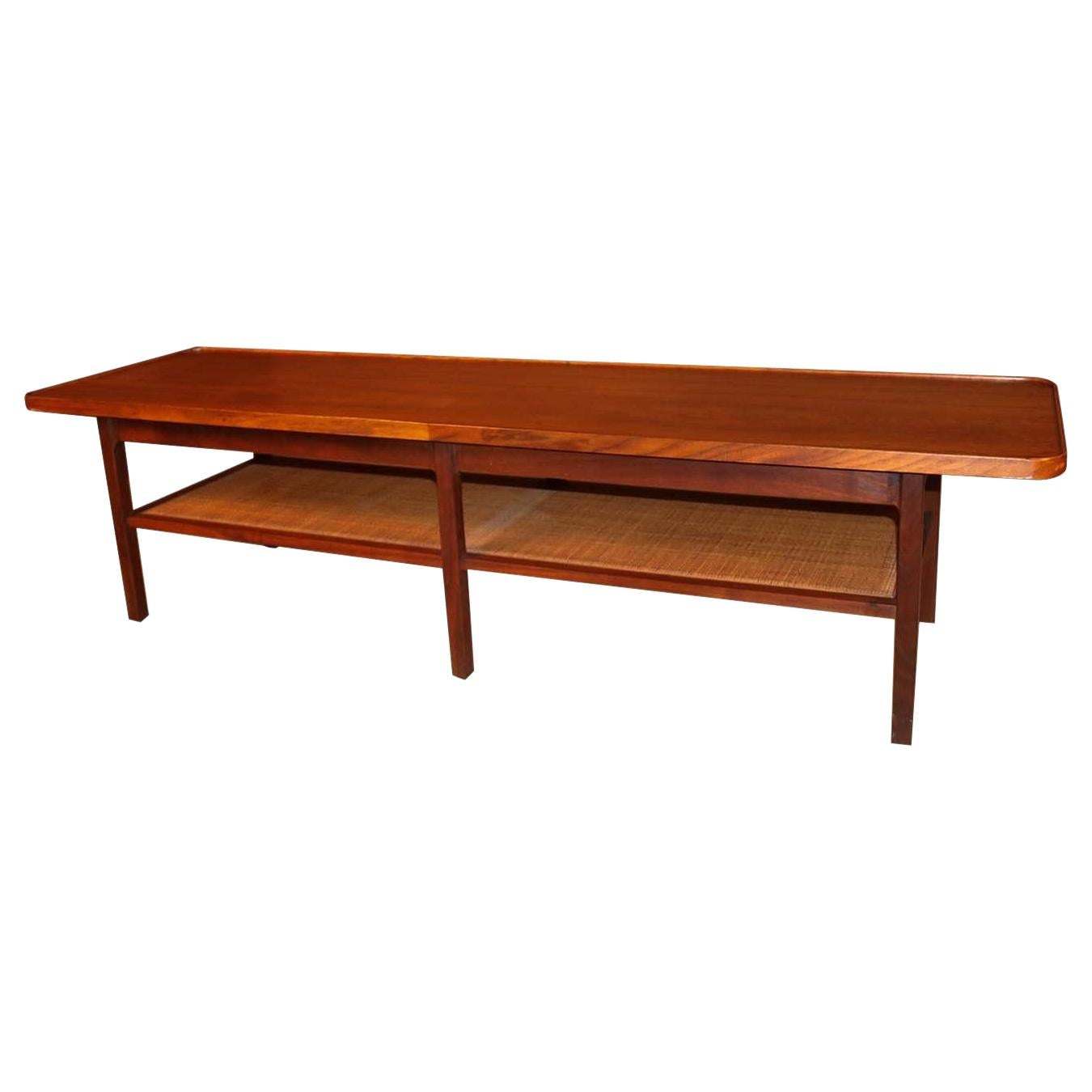 Mid Century Two Tier Coffee Table