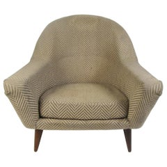Midcentury Upholstered Armchair
