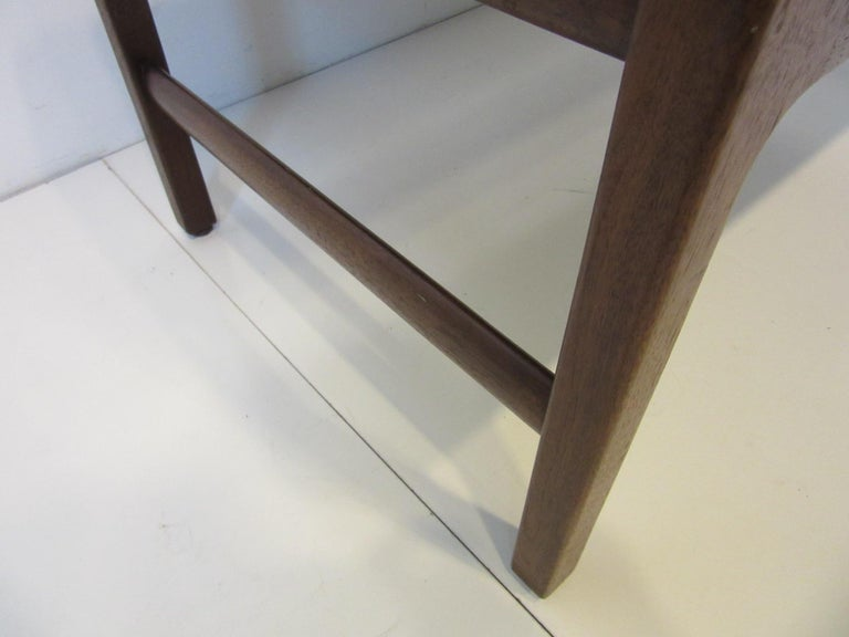 20th Century Midcentury Upholstered Bench in the Manner of Jens Risom For Sale