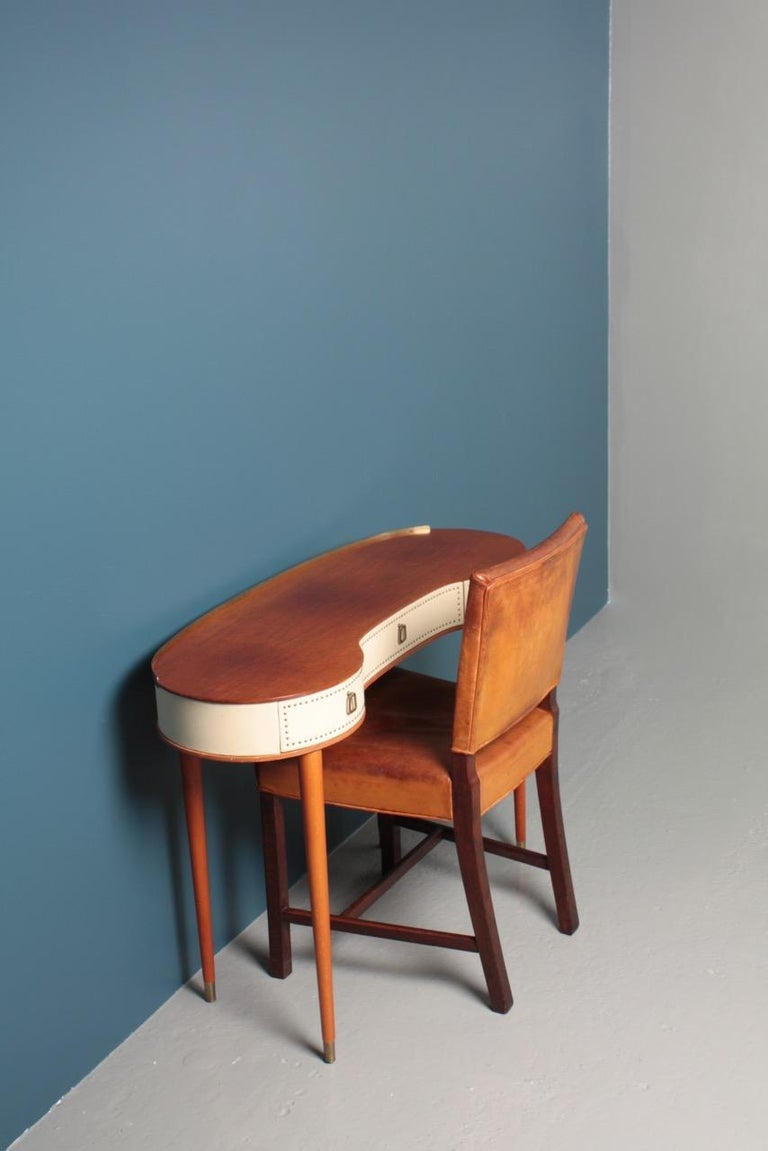 Midcentury Vanitie Designed by Halvdan Petterson, Made in Sweden For Sale 4