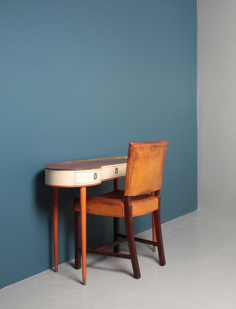 Scandinavian Modern Midcentury Vanitie Designed by Halvdan Petterson, Made in Sweden For Sale