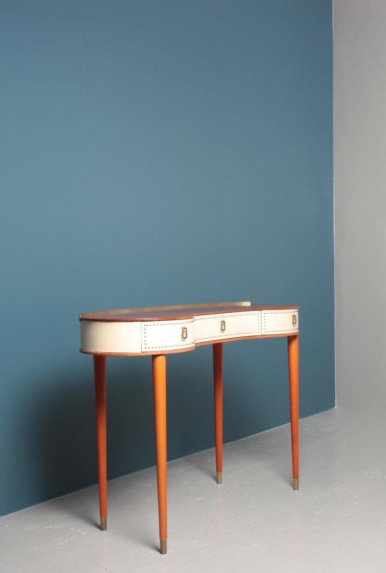 Midcentury Vanitie Designed by Halvdan Petterson, Made in Sweden In Good Condition For Sale In Lejre, DK