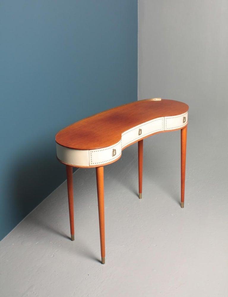 Midcentury Vanitie Designed by Halvdan Petterson, Made in Sweden For Sale 1