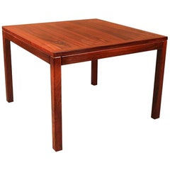 Midcentury Vejle Stole Mobelfabrik Danish Rosewood Side Table