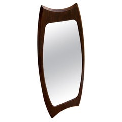 Midcentury Vertical Mirror Attributed to Franco Campo and Carlo Graffi