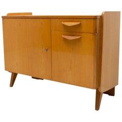 Midcentury Vintage Small TV Cabinet by František Jirák, 1960's, Czechoslovakia