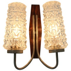 Midcentury Wall Lamp in Style of Stilnovo, 1970s