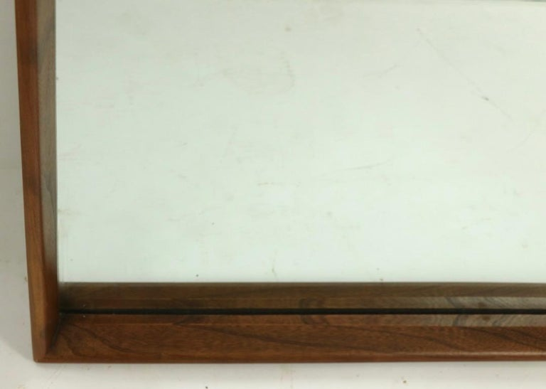 American Mid Century Wall Mirror For Sale