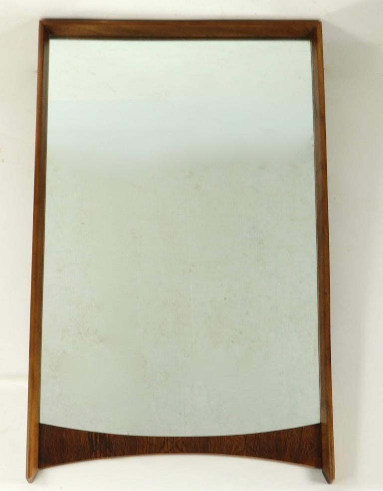 20th Century Mid Century Wall Mirror For Sale