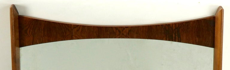 Mid Century Wall Mirror For Sale 1
