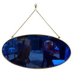 Mid Century Wall Mirror, Italy, 1970s