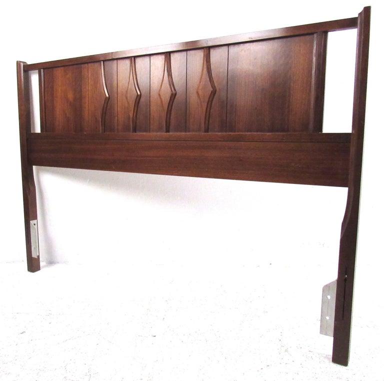 Mid Century Modern Furniture Virginia: Midcentury Walnut Bedroom Suite By Coleman Of Virginia For