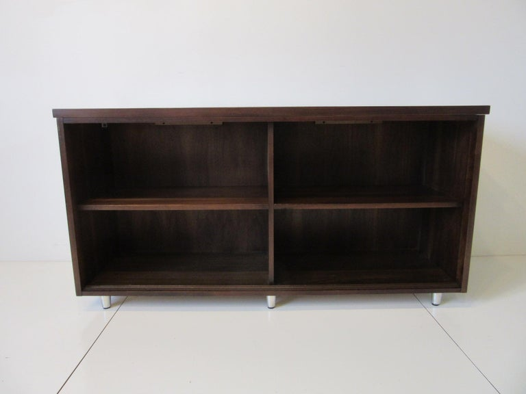 Midcentury Walnut Credenza by The Alma Furniture Company For Sale 4