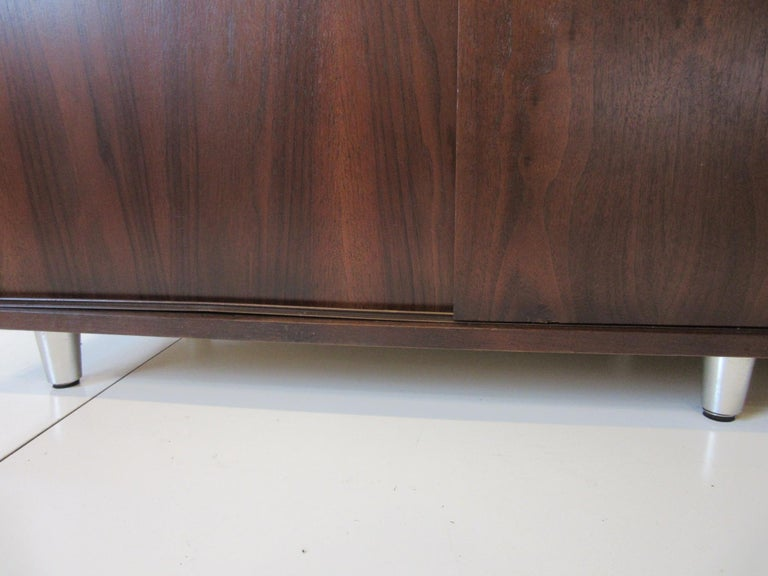 Midcentury Walnut Credenza by The Alma Furniture Company For Sale 6