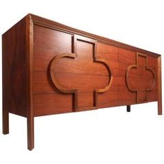 Mid-Century Walnut Dresser by Edmund Spence